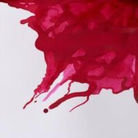 094376896459-W&N DRAWING INKS [SWATCH] CRIMSON (For screen)