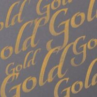 094376907292-W&N CALLIGRAPHY INKS [SWATCH] GOLD (For screen)
