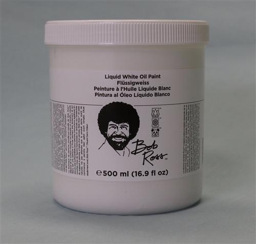 Bob Ross 500ml Liquid White