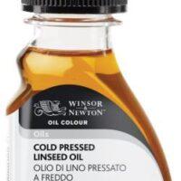 OIL MEDIUM 75ML COLD PRESSED LINSEED OIL