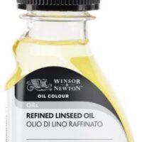 OIL MEDIUM 75ML REFINED LINSEED OIL