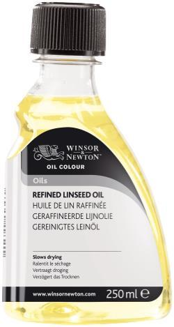 OIL MEDIUM 250ML REFINED LINSEED OIL
