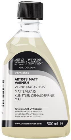 OIL MEDIUM 500ML ARTISTS' MATT VARNISH