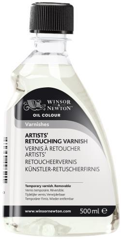 OIL MEDIUM 500ML ARTISTS' RETOUCHING VARNISH