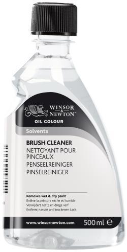 OIL MEDIUM 500ML BRUSH CLEANER