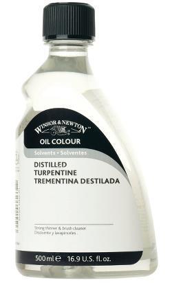 OIL Medium 500ml DISTILLED TURPENTINE