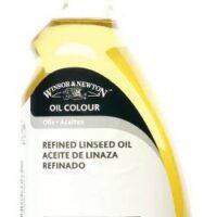 OIL Medium 500ml REFINED LINSEED OIL