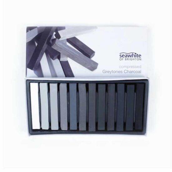 Seawhite Compressed Grey Tones Charcoal