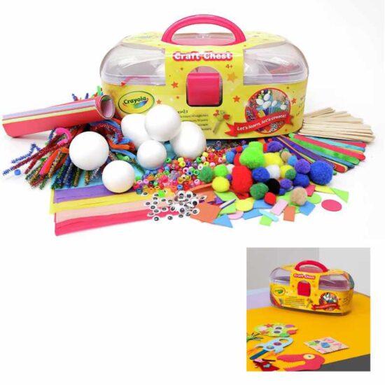 crayola craft chest