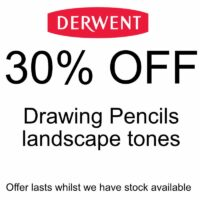 30% off Derwent Drawing Pencils