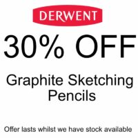 30% off Derwent Graphite Pencils