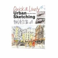 quick and lively urban sketching