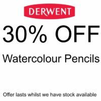 30% off Derwent Watercolour