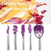 Liquitex basics fan brush