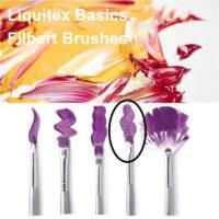 Liquitex basics filbert brush