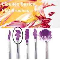 Liquitex basics flat brush