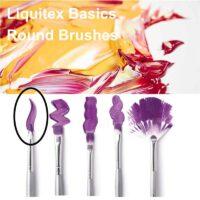 Liquitex basics round brush