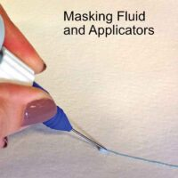 Masking Fluid and Applicators